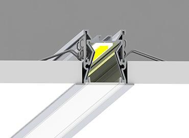 Comment encastrer un profile LED ?
